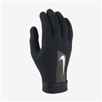 Nike Academy Hyperwarm Gloves-Black-White