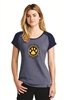 (25) Women's Littleton Paw Logo T-Shirt