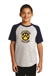 (24) Youth Littleton Paw Logo T-Shirt