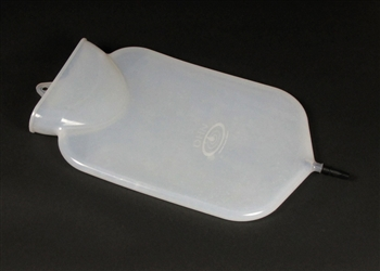 2 Quart Silicone Clear Classic Enema Bag
