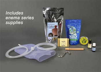 2-Quart Silicone Coffee Enema Kit with Flex Tip Nozzle