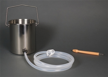 2-Quart Bucket Easy Enema Kit with Flex Tip Nozzle