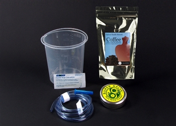 1.5-Quart Coffee Enema Kit with Plastic Bucket