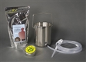 2-Quart Coffee Enema Bucket Kit with Silicone Colon Tube