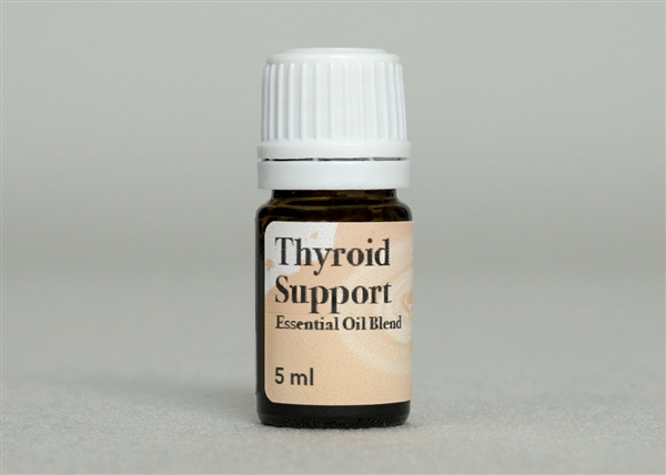 Thyroid Support Essential Oil Blend | Hyperthyroidism
