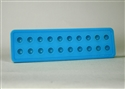 Rounded 20 Cube Suppository Tray