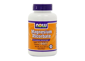 NOW Magnesium Ascorbate Powder - 8 oz