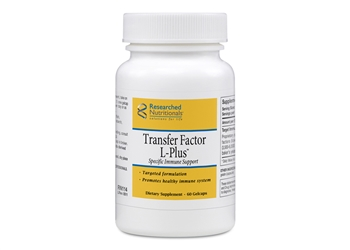Researched Nutritionals Transfer Factor L-Plus - 60 capsules
