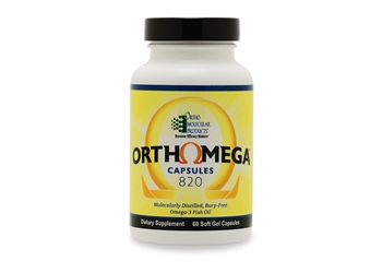 Orthomega 820 Fish Oil 60 capsules