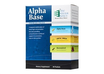 Ortho Alpha Base Premier Packs - 60 packets