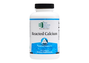 Ortho Reacted Calcium 180 Capsules