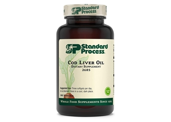 Standard Process Cod Liver Oil - 180 softgels