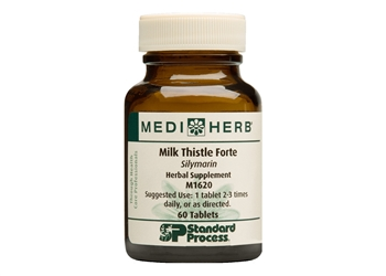 Standard Process MediHerb Milk Thistle Forte - 60 tablets