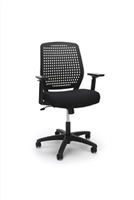 PLASTIC BACK ERGONOMIC TASK CHAIR