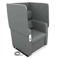 Morph 2201 Privacy Chairs with Power