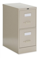 Global 2 Drawer Vertical File Letter size