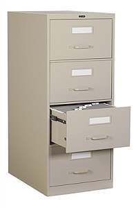 Global 4 Drawer Vertical File Legal size