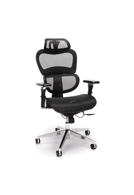 ERGO MESH OFFICE CHAIR WITH HEAD REST