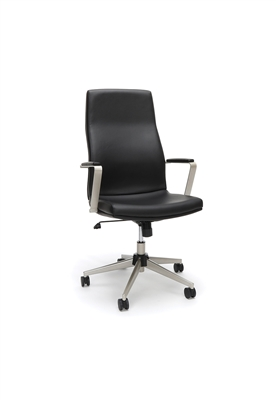 HIGH BACK LEATHER MANAGER CHAIR
