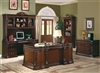 Wood Executive Desk Office Furniture Set