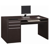 Single Pedestal Home Office Desk