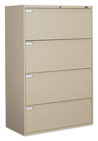 "Global 4 Drawer 36""W  Lateral File"