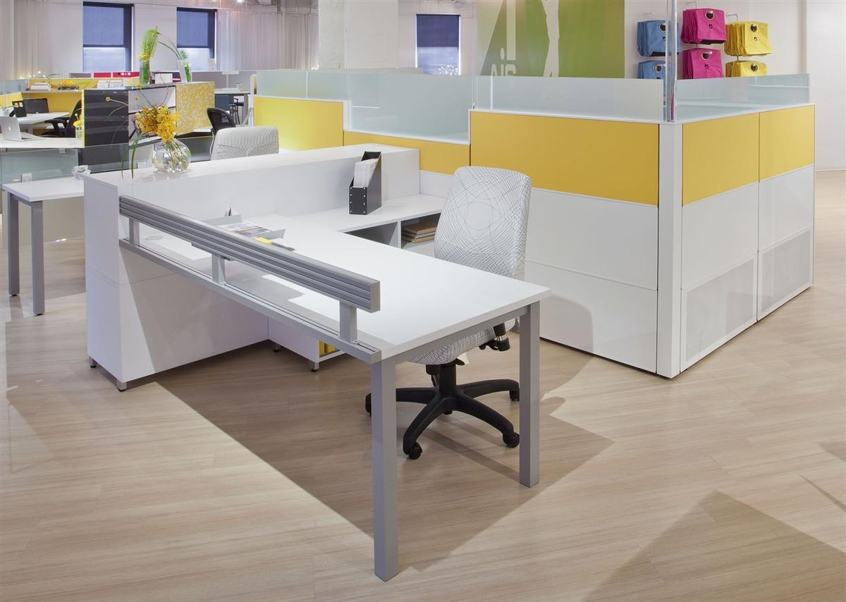 Ais Matrix Open Plan Segmented Tile Cubicle Workstations