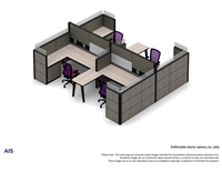 AIS Cubicle Renderings
