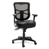 Elusion Black Mesh Leather Chair