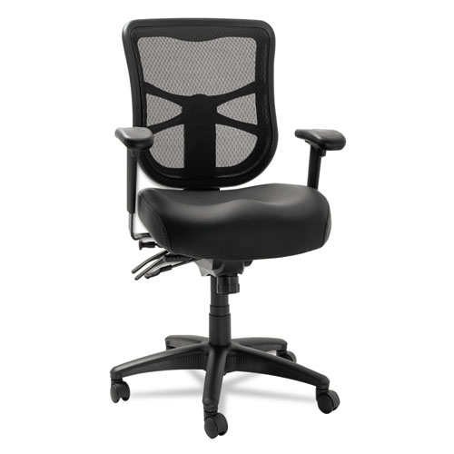 Elusion Black Mesh Leather Office Chair Aleel4215 By Alera