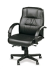 Black Leather Conference Chair