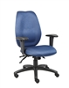 Boss Blue Ergonomic Computer Chair