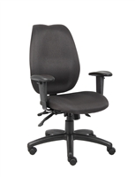 Boss Black Computer Chair