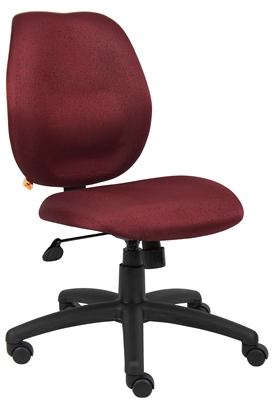 Boss burgundy Task Chair