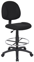 Boss Drafting Stool (B315-Bk) W/Footring