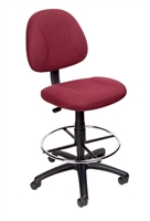 Boss Drafting Stool (B315-By) W/Footring