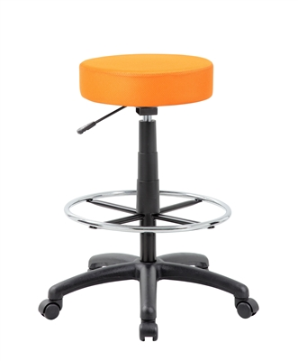 The DOT drafting stool, Orange