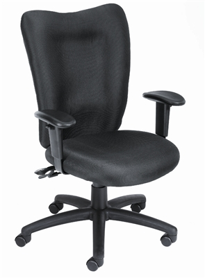 Boss Black Ergonomic Computer Chair