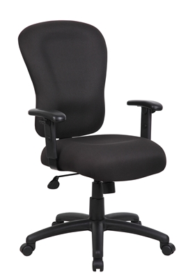 Boss Black Task Chair With B909Jarm