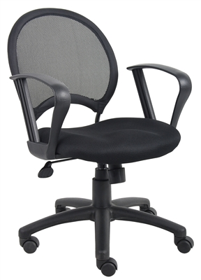 Boss Mesh Chair With Loop Arms