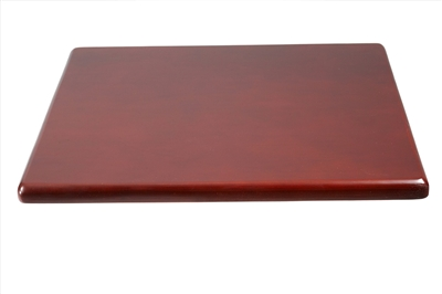 Boss Spacer Table, Mahogany