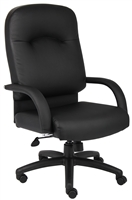 Boss High Back Caressoft Chair In Black