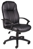 Boss High Back Leather Plus Chair