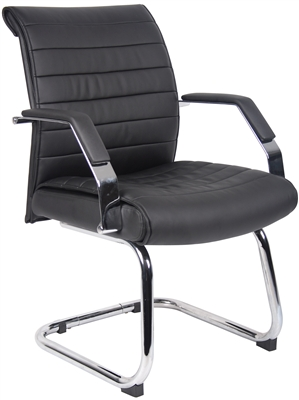 Boss Ribbed Guest Chair
