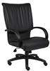 Boss High Back Black Leatherplus Executive Chair