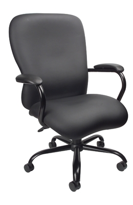 Boss Heavy Duty Caressoftplus Chair - 350 Lbs