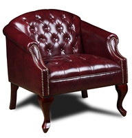 Boss Classic Traditional Button Tufted Club Chair