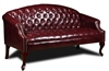 Boss Classic Traditional Button Tufted Sofa.