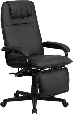 Leather Reclining Executive Office Chair