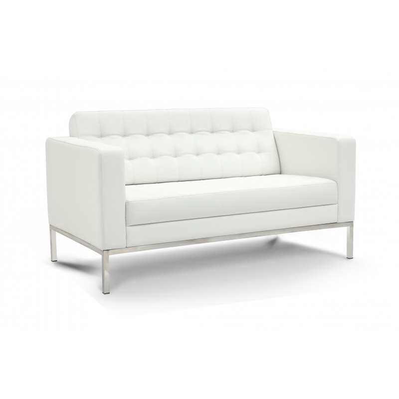 piazza leather reception sofa s cd piazza1 from boca raton office